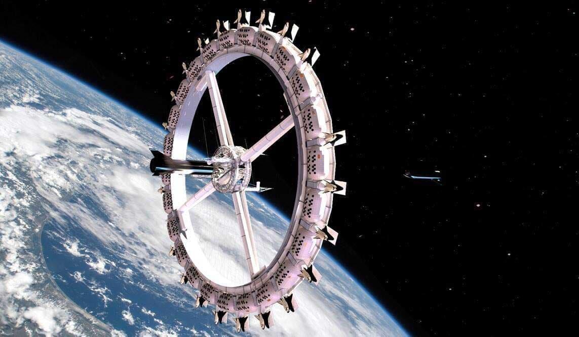 Отель космического масштаба