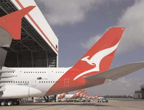 an analysis of the competition between qantas and ansett australia two airline companies The main domestic competitor to qantas, ansett australia  lock-out of the airline's staff for two competition and industrial disputes, qantas reported.