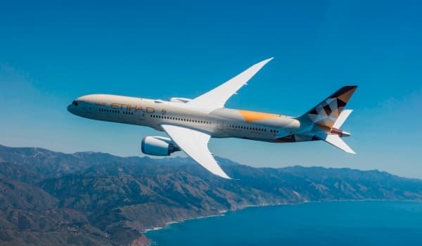 Etihad Airways запускает флагманский Boeing 787 в Бейрут