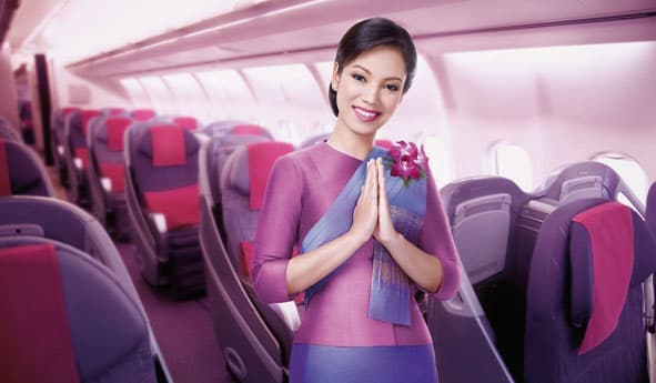 В Таиланд с Thai Airways