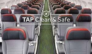 Летать безопасно с TAP Air Portugal Clean & Safe
